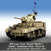 M3 Light Tank Honey - Polly III