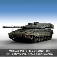 Merkava IV - Spear Edge Company