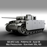 PzKpfw III - Panzer 3 -  Ausf.M