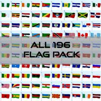 All 196 Flag Pack