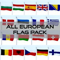 All European Flag Pack