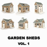 Garden sheds collection vol.1