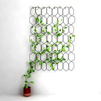 Anno Trellis Modular Set of metal rings Hexagon Compagnie
