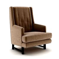 Armchair Designed by Edward Wormley for Dunbar 3d model