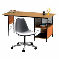 Vitra Eames plastic chair and edu desk unit