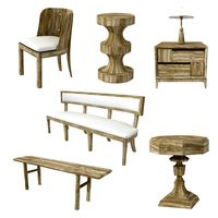 Custom made wood furniture