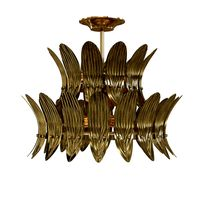 arteriors Analise Two Tier Chandelier
