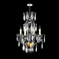 1920 EXQUISITE FRENCH CRYSTAL 9 LIGHT CHANDELIER