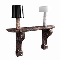 classic console and table lamp