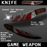 Knife Game Weapon