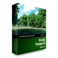 CGAxis Models Volume 105 - Fruit Trees Unreal Engine