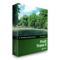 CGAxis Models Volume 105 - Fruit Trees Mental Ray