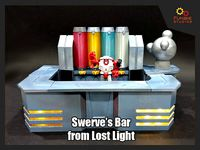 Transformers Swerves Bar from Lost Light | 3D