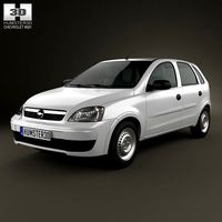Chevrolet Corsa 5-door hatchback 2012