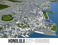 Honolulu - city and island