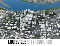 Louisville - city and surrounding area