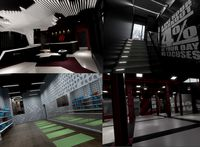 Fitness Club Interior