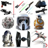 Star Wars 3D Models Collection