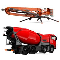 Mixer Truck and Concrete Boom Pump Machine Collection