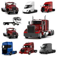 Trucks 3D Models Collection 3