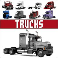 Trucks 3D Models Collection 2