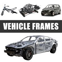 Vehicle Frames 3D Models Collection