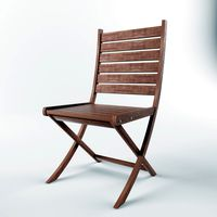 Garden Chair Fine Attractive