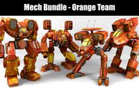 Mech Bundle - Orange Team