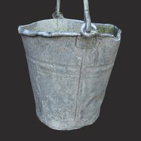 Bucket Old Metal