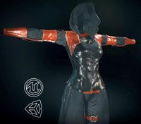 Female Assassin Outfit 1