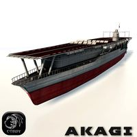 Akagi aircraft carrier