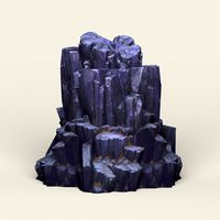 Low Poly Stone Rock 11