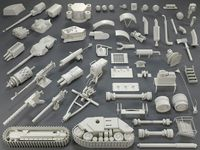 Tank Parts (60 pieces) - collection-5