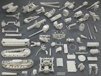 Tank Parts (60 pieces) - collection-2