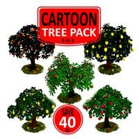 Cartoon Tree Pack