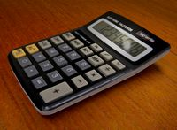 Calculator top/write