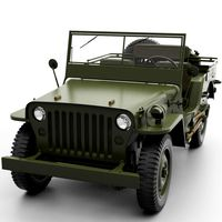 Jeep Willys (HP + LP)