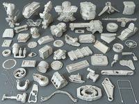 Kit bash - 57 pieces - collection-31
