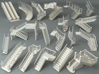 Stairs - Part - 4 - 19 pieces