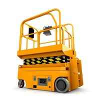 Scissor Lift Animated