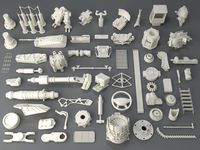 Kit bash(58 pieces) - collection-3