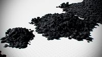 Coal Model Pack - Black Brown Anthracite