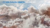VDB Clouds BUNDLE 2 in 1 (Volume 1 and Volume 2)