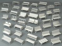Benches - Part - 1 - 40 pieces