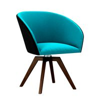 Zuo Modern WANDER DINING CHAIR BLUE and GRAY