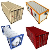 20 feet Containers Pack