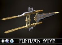 BUTTERFLY ASSASSIN - Flintlock Katar