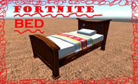 Fortnite Bed