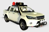 Toyota Hilux Double 3D model