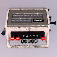 Facit Analog Calculator